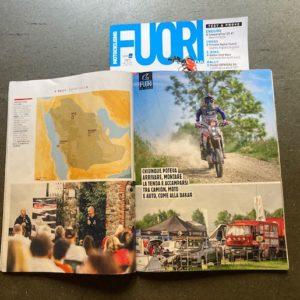 Articolo di motociclismo su presentazione Dakar 2022